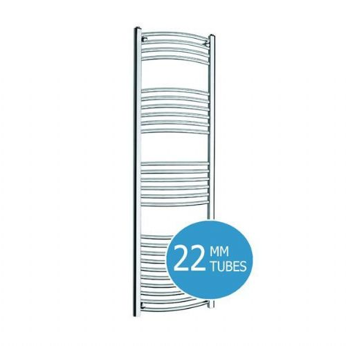 Kartell K-Rail Curved Towel Rail - 300mm x 1600mm - Chrome